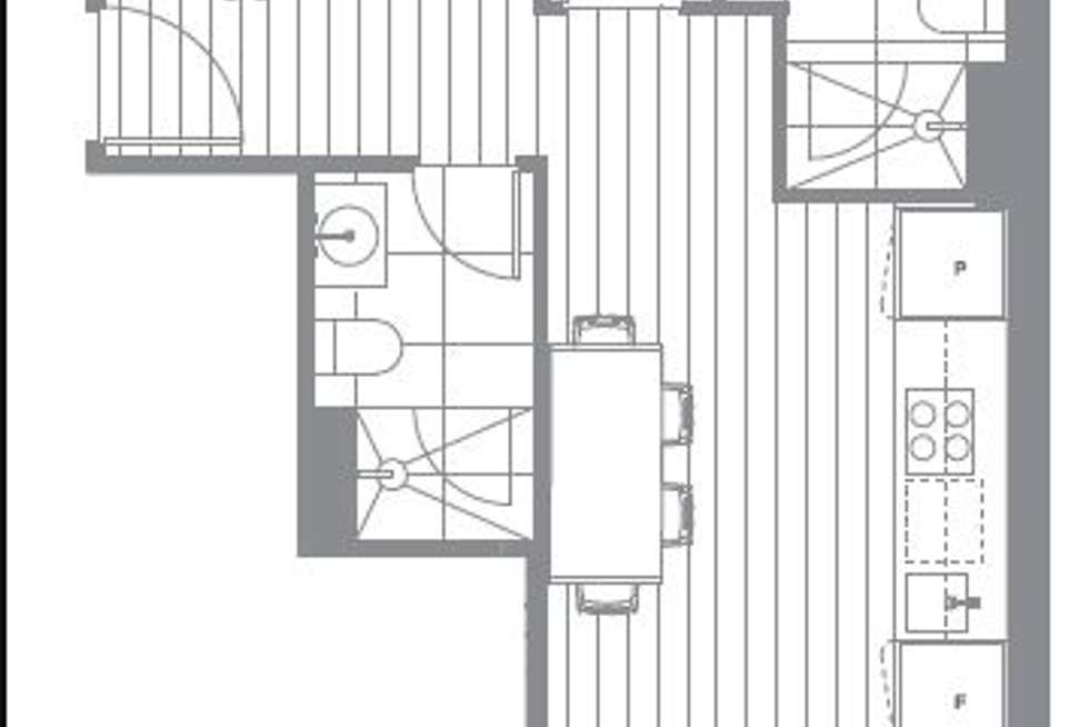 Floorplan of Homely apartment listing, 501/649 Chapel Street, South Yarra VIC 3141