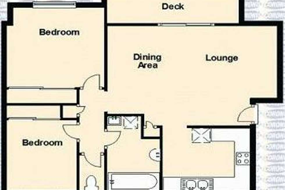 Floorplan of Homely unit listing, 4/501 Rode Road, Chermside QLD 4032