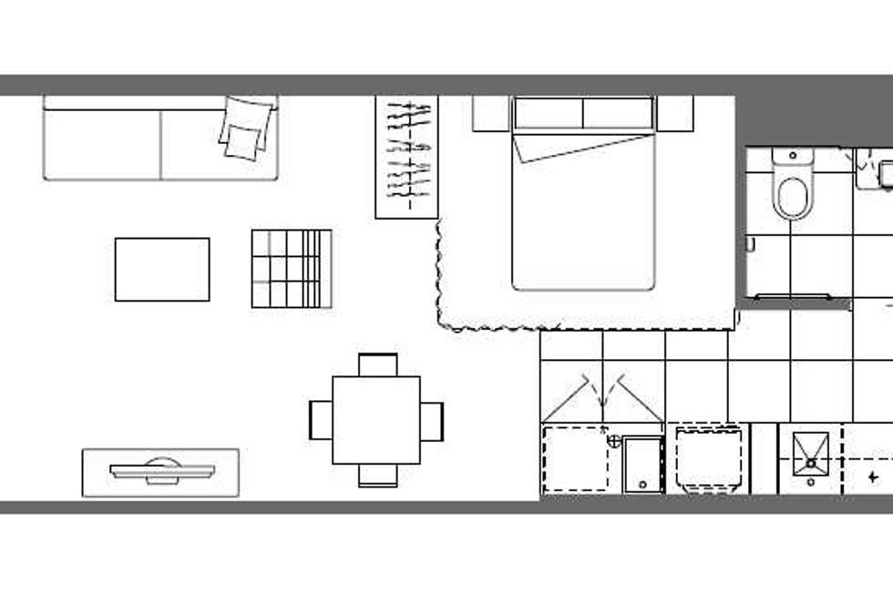 Floorplan of Homely apartment listing, 305/31 Malcolm Street, South Yarra VIC 3141