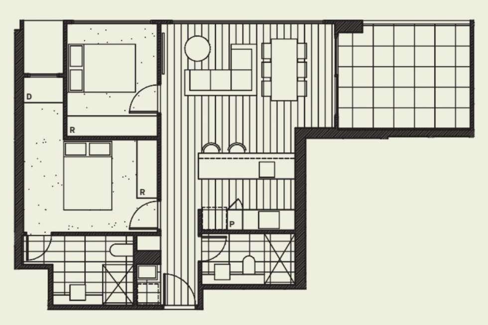 Floorplan of Homely apartment listing, 105/60-66 Islington Street, Collingwood VIC 3066