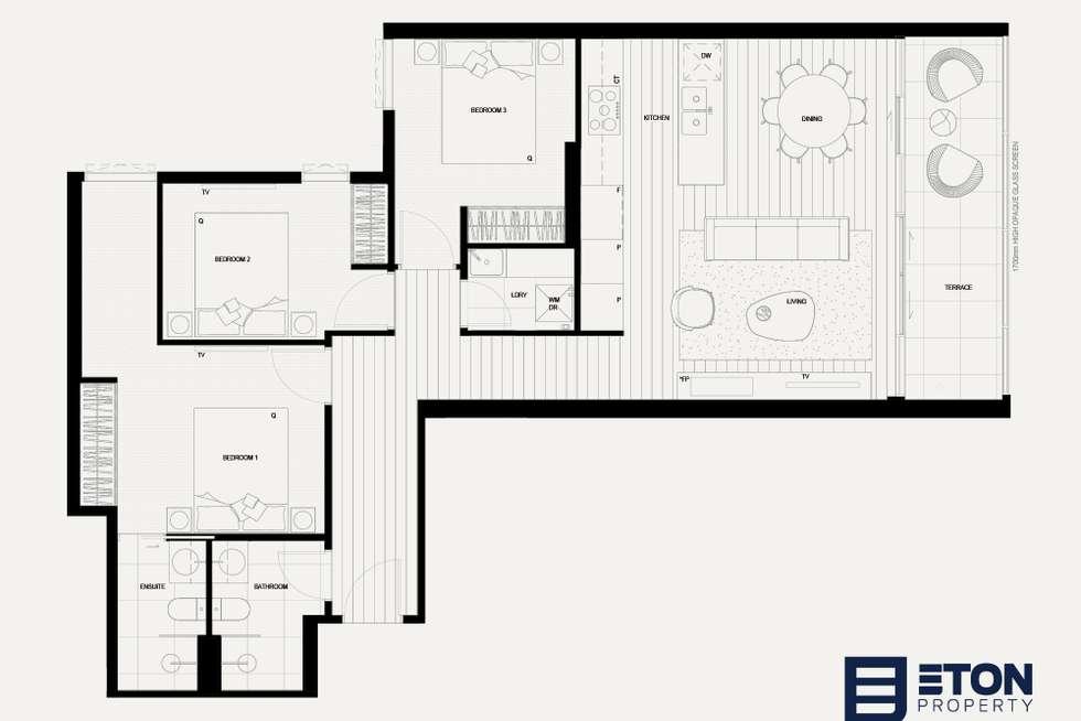 Floorplan of Homely apartment listing, 2.03/239 Church Street, Richmond VIC 3121