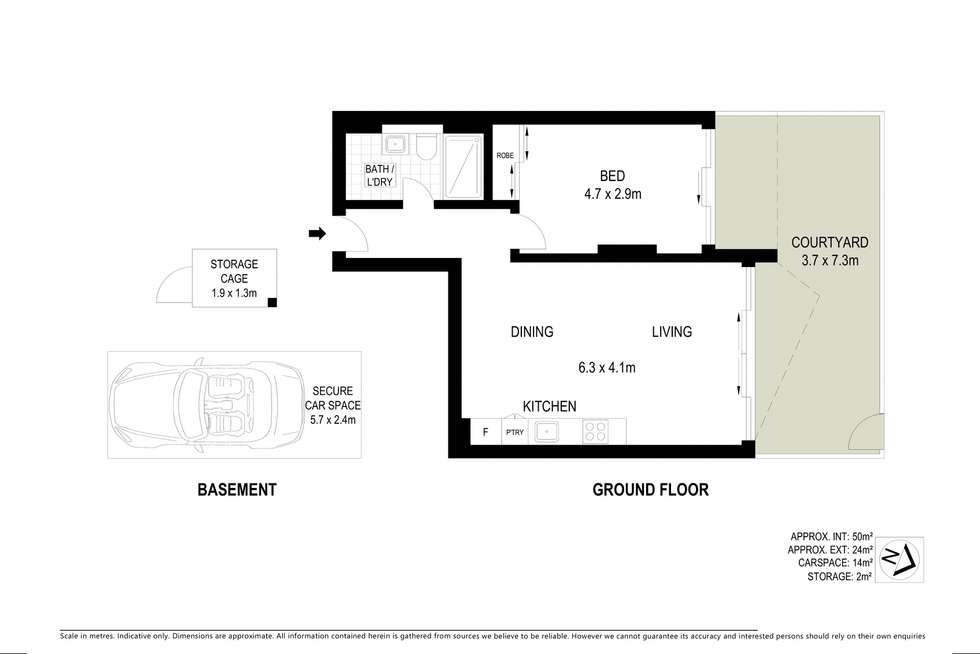 Floorplan of Homely apartment listing, 3/371 Liverpool Road, Ashfield NSW 2131