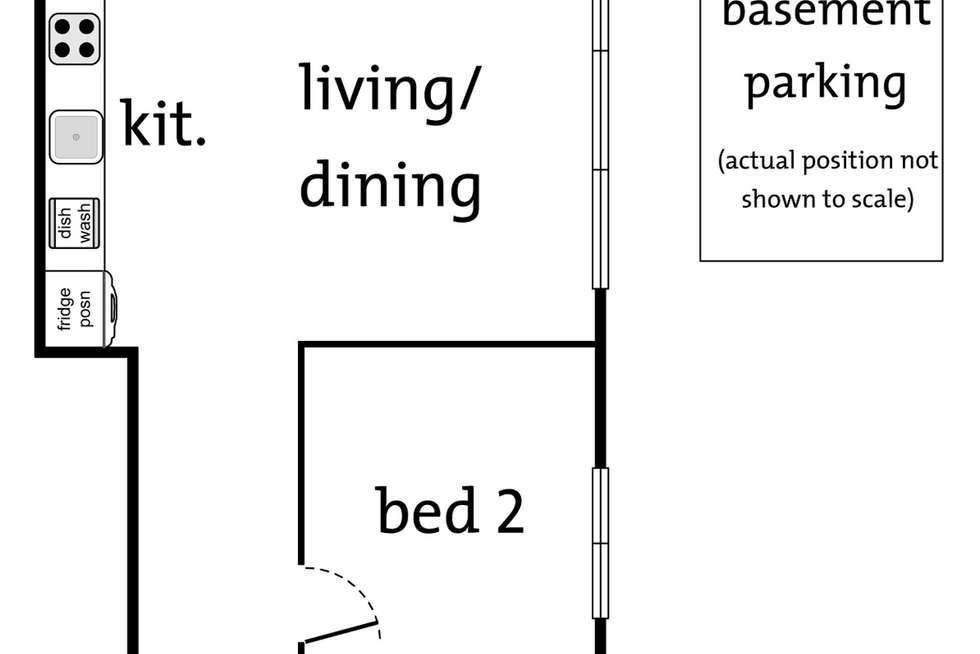Floorplan of Homely apartment listing, 7/167 Lower Heidelberg Road, Ivanhoe East VIC 3079