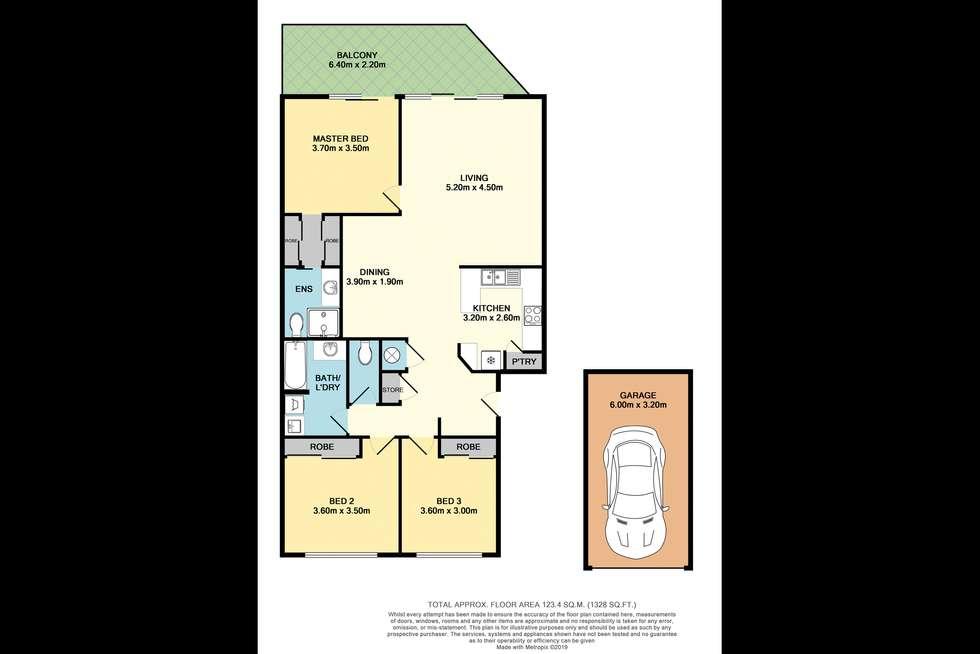 Floorplan of Homely unit listing, 25/11 Taigum Place, Taigum QLD 4018