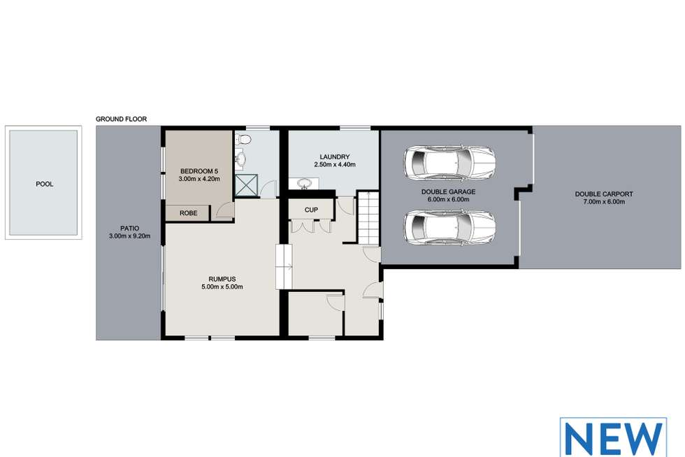 Floorplan of Homely house listing, 86 Greta Street, Manly West QLD 4179