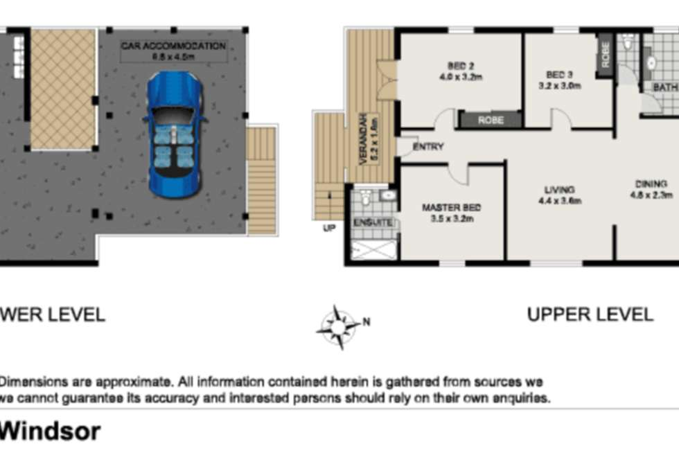 Floorplan of Homely house listing, 15 Bess Street, Windsor QLD 4030