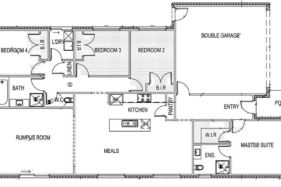 Floorplan of Homely house listing, 3 Valmont Street, Craigieburn VIC 3064