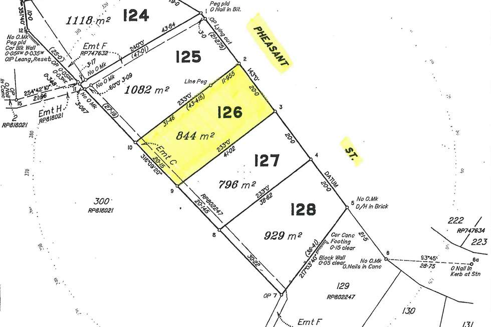Floorplan of Homely residentialLand listing, 26 Pheasant Street, Bayview Heights QLD 4868