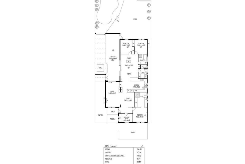 Floorplan of Homely house listing, 108 Fourth Avenue, Joslin SA 5070