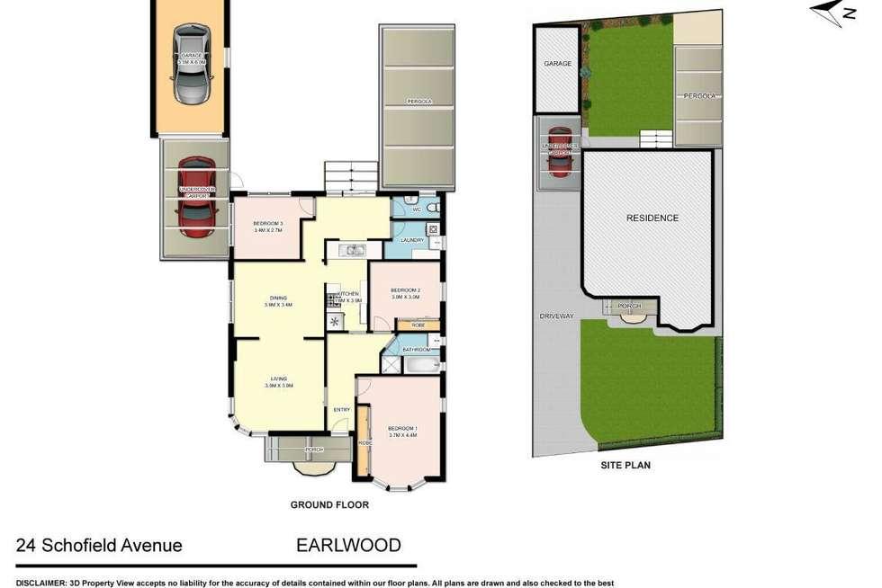 Floorplan of Homely house listing, 24 Schofield Avenue, Earlwood NSW 2206