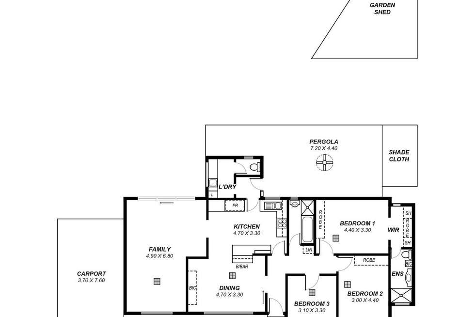 Floorplan of Homely house listing, 35 Montacute Road, Campbelltown SA 5074