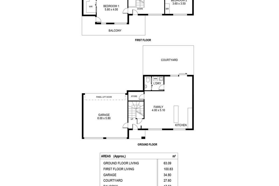 Floorplan of Homely house listing, 6 Mawson Link, Mawson Lakes SA 5095