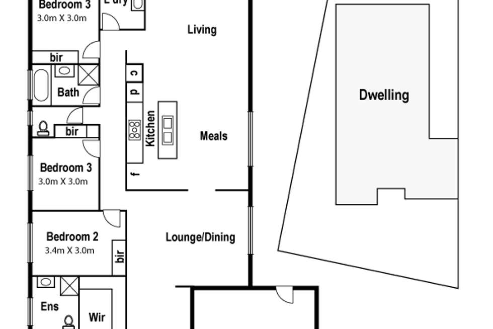 Floorplan of Homely house listing, 6 Coracle Drive, Sanctuary Lakes VIC 3030