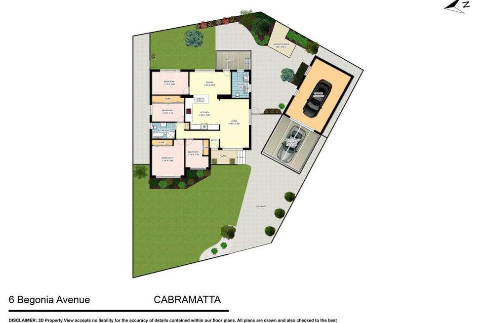 Floorplan of Homely house listing, 6 Begonia Avenue, Cabramatta NSW 2166