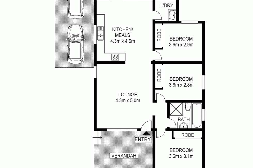 Floorplan of Homely house listing, 42 Finlayson.. Street, Wentworthville NSW 2145