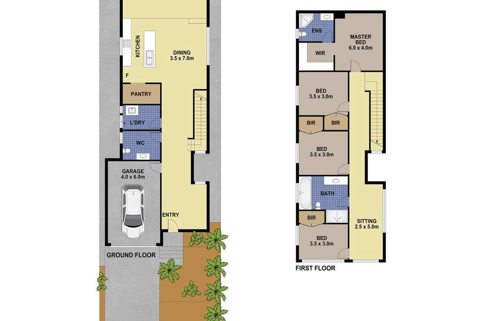 Floorplan of Homely house listing, 31 Sparrow Lane, Green Valley NSW 2168