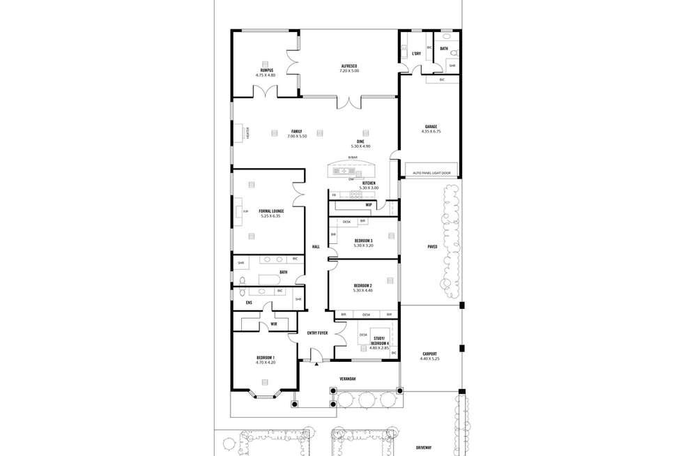 Floorplan of Homely house listing, 66 Lambert Road, Royston Park SA 5070