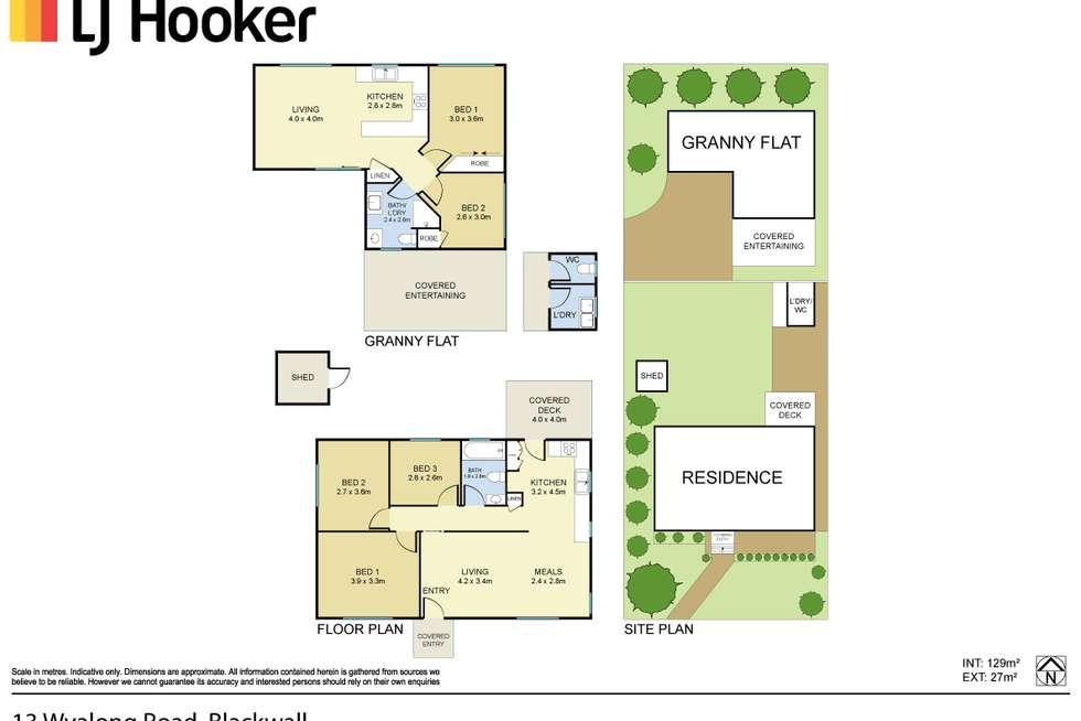Floorplan of Homely house listing, 13 Wyalong Road, Blackwall NSW 2256