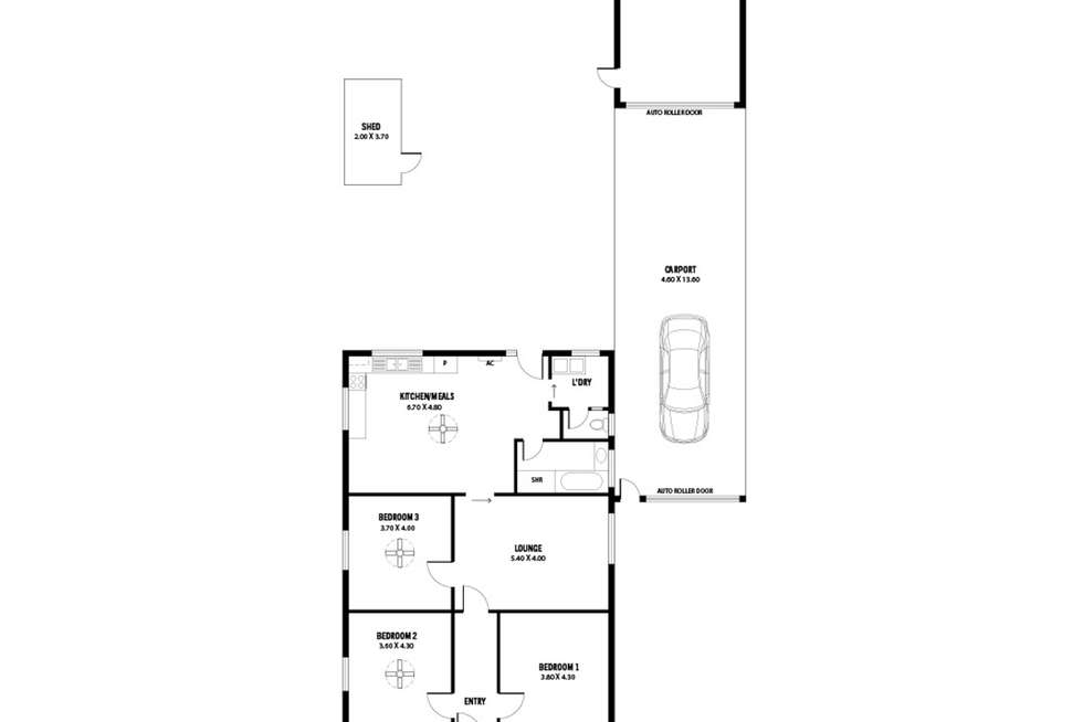 Floorplan of Homely house listing, 159 First Avenue, Royston Park SA 5070