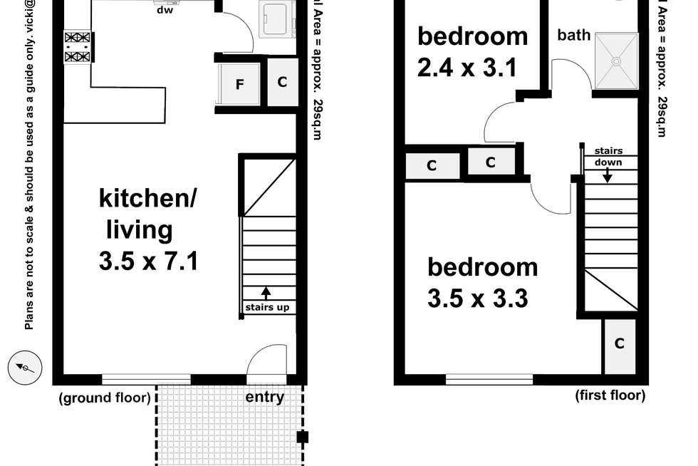 Floorplan of Homely house listing, Unit 5/12 Higgins Avenue, Wagga Wagga NSW 2650