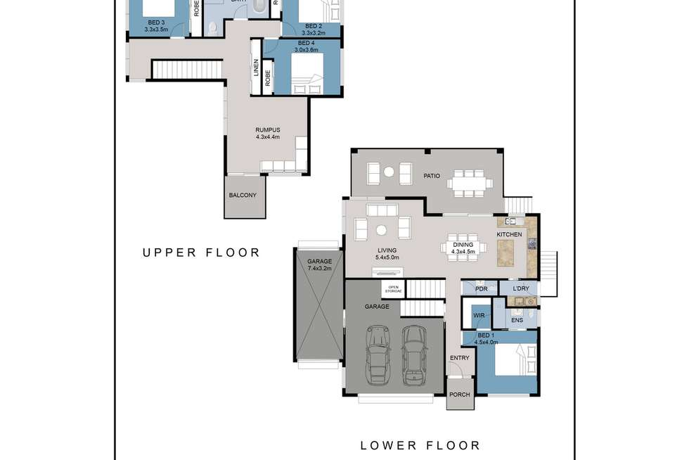 Floorplan of Homely house listing, 14 David Campbell Street, North Haven NSW 2443