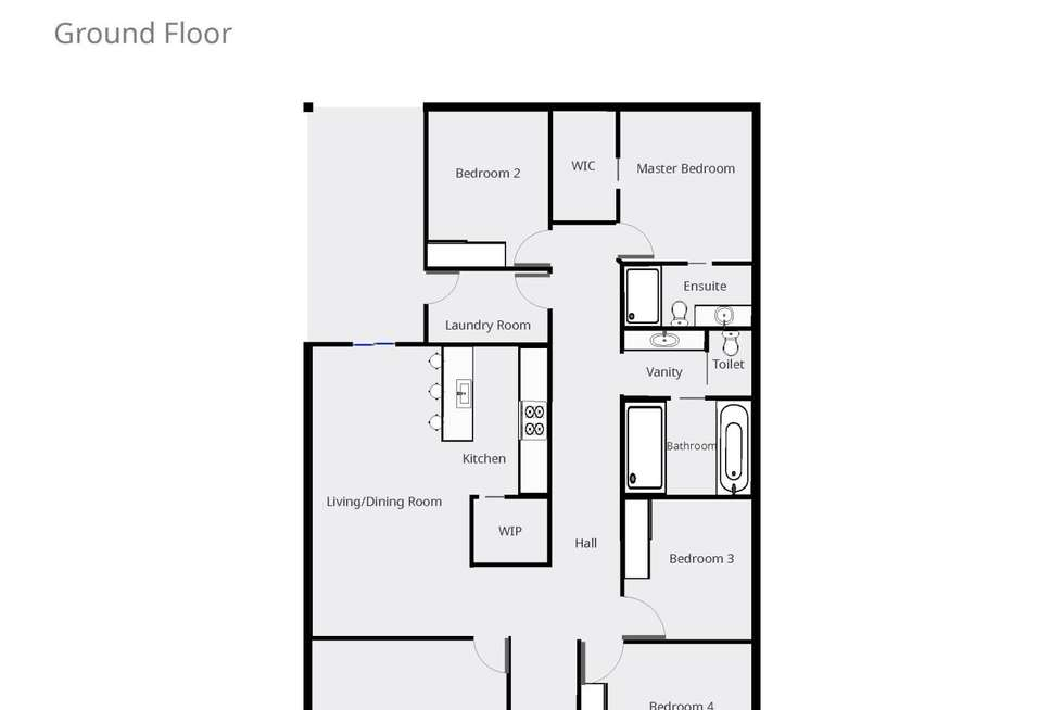 Floorplan of Homely house listing, 41 Clem Mcfawn Place, Orange NSW 2800