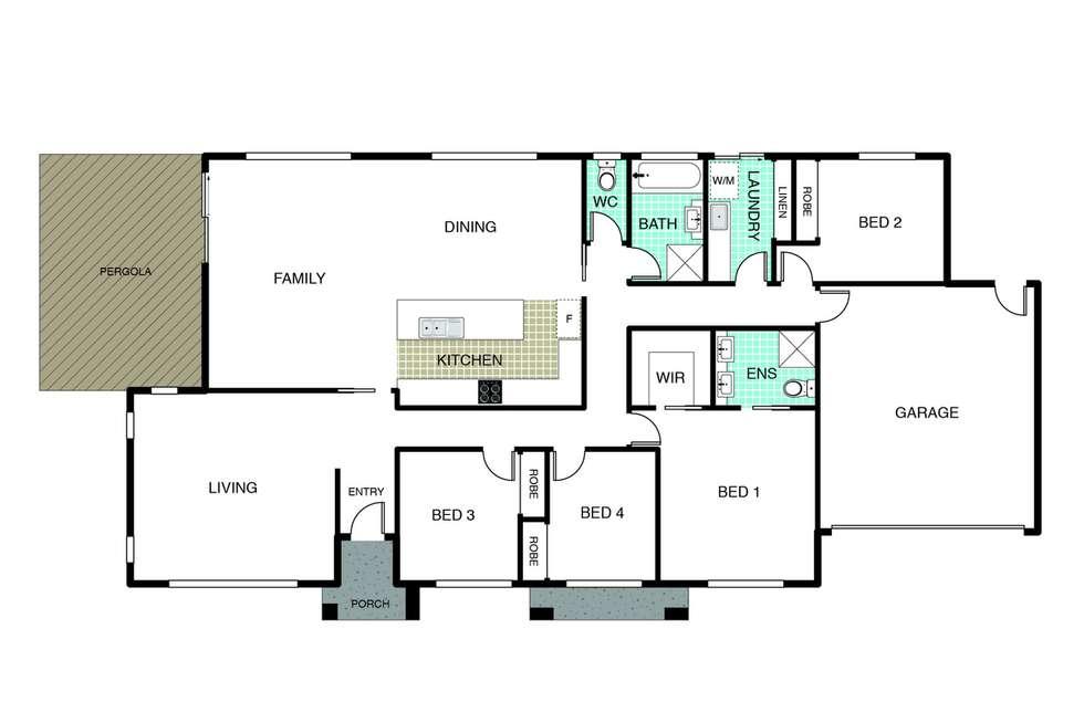 Floorplan of Homely house listing, 22 Renfree Street, Casey ACT 2913