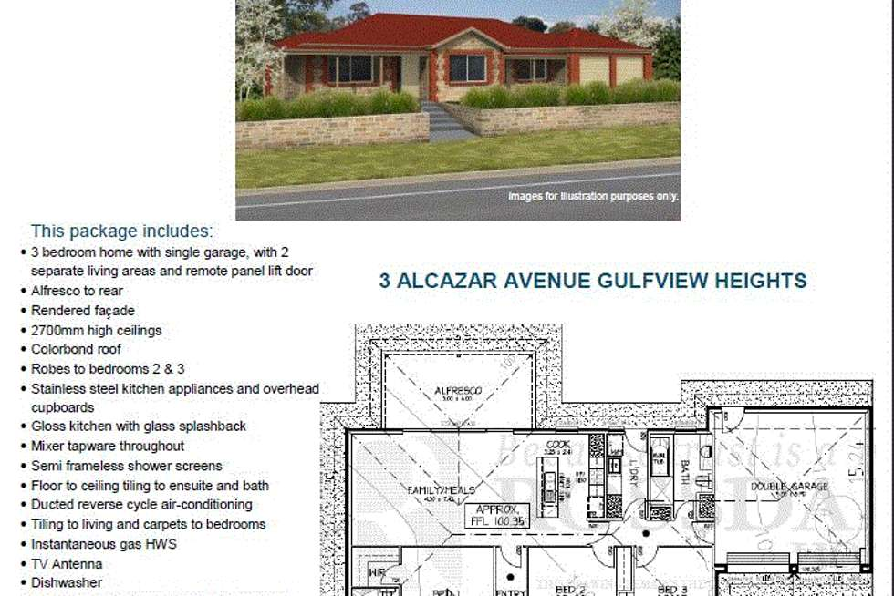 Floorplan of Homely house listing, Lot 3 Wynn Vale Drive, Gulfview Heights SA 5096