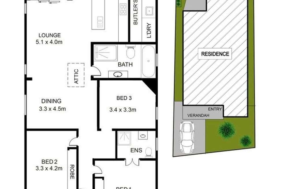Floorplan of Homely house listing, 10 Coralie Street, Wareemba NSW 2046