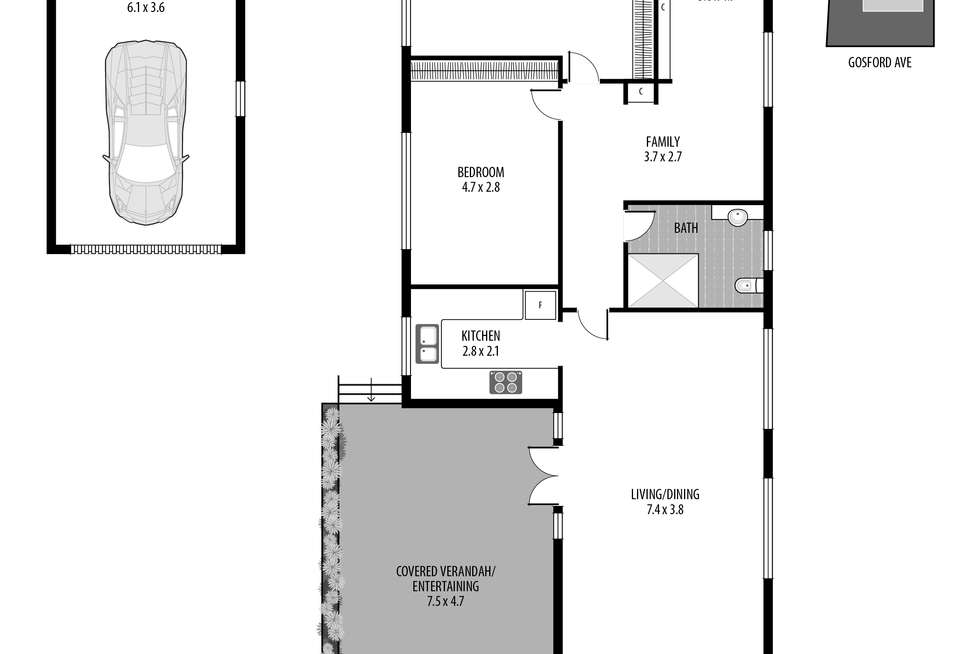 Floorplan of Homely house listing, 22 Gosford Avenue, The Entrance NSW 2261