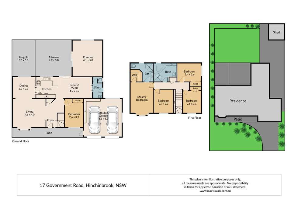Floorplan of Homely house listing, 17 Government Road, Hinchinbrook NSW 2168