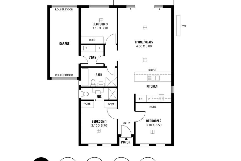 Floorplan of Homely house listing, 2/52 Valley Road, Hope Valley SA 5090