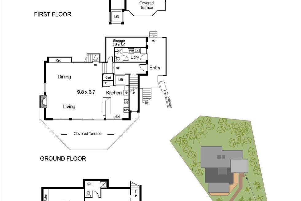 Floorplan of Homely house listing, 28 Pacific Road, Palm Beach NSW 2108