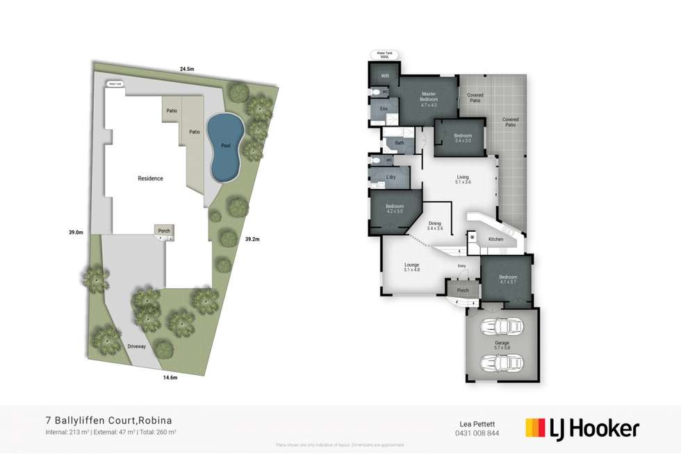Floorplan of Homely house listing, 7 Ballyliffen Court, Robina QLD 4226