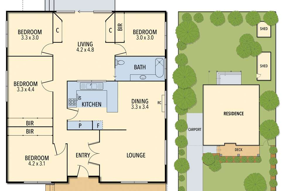 Floorplan of Homely house listing, 17 Forbes St, Colac VIC 3250