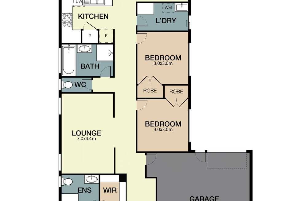 Floorplan of Homely house listing, 15 Kruger Street, Mernda VIC 3754