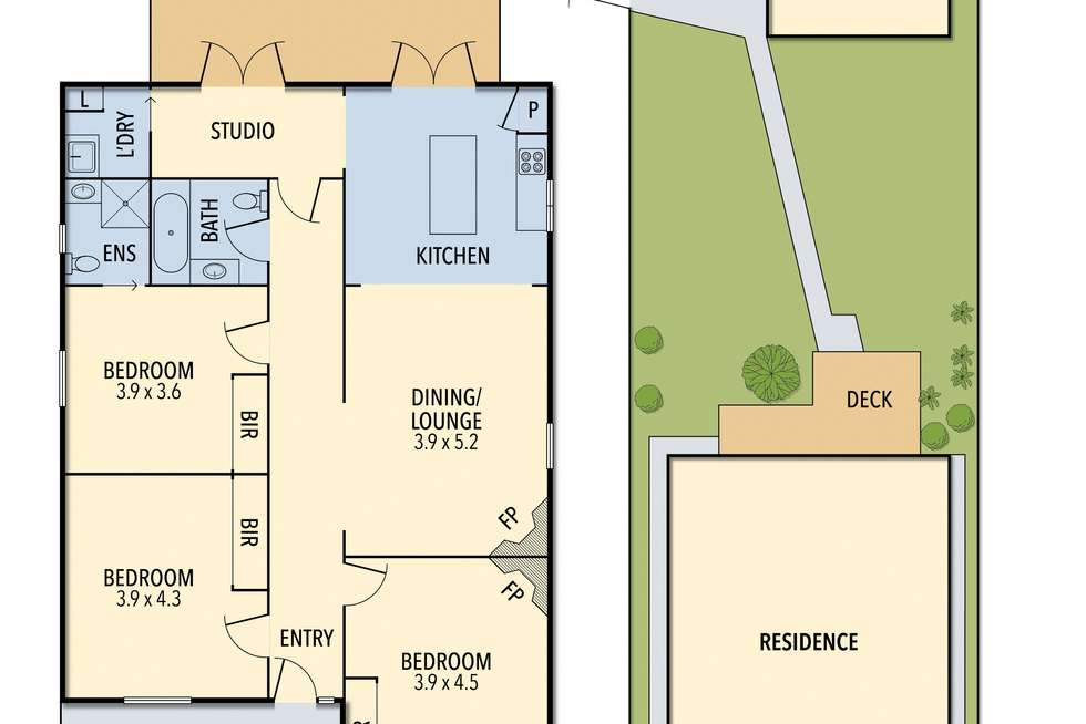 Floorplan of Homely house listing, 54 Pollack Street, Colac VIC 3250