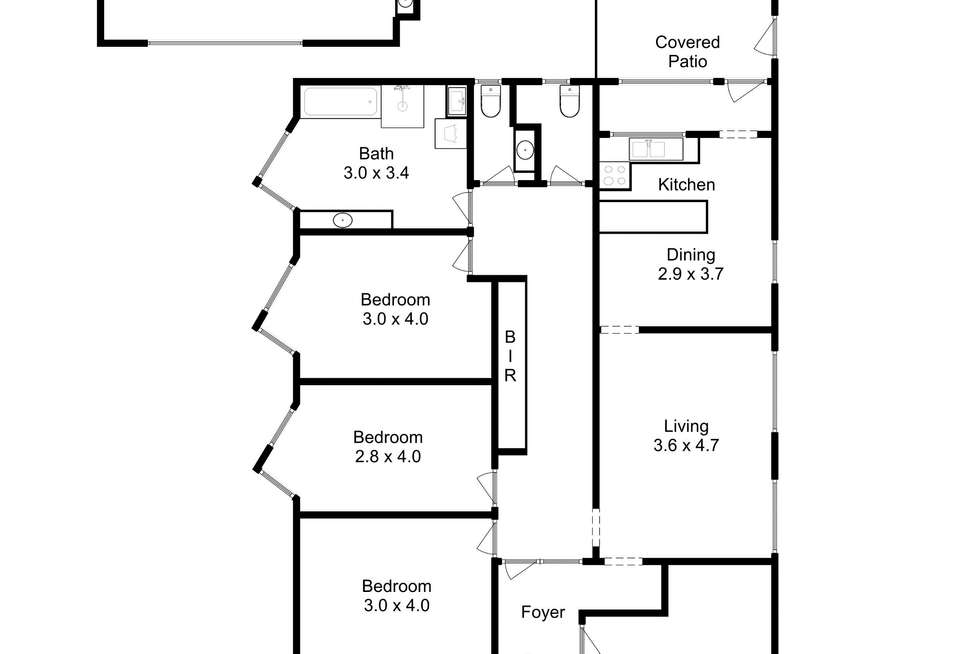 Floorplan of Homely house listing, 19 Albert Road, Moonah TAS 7009