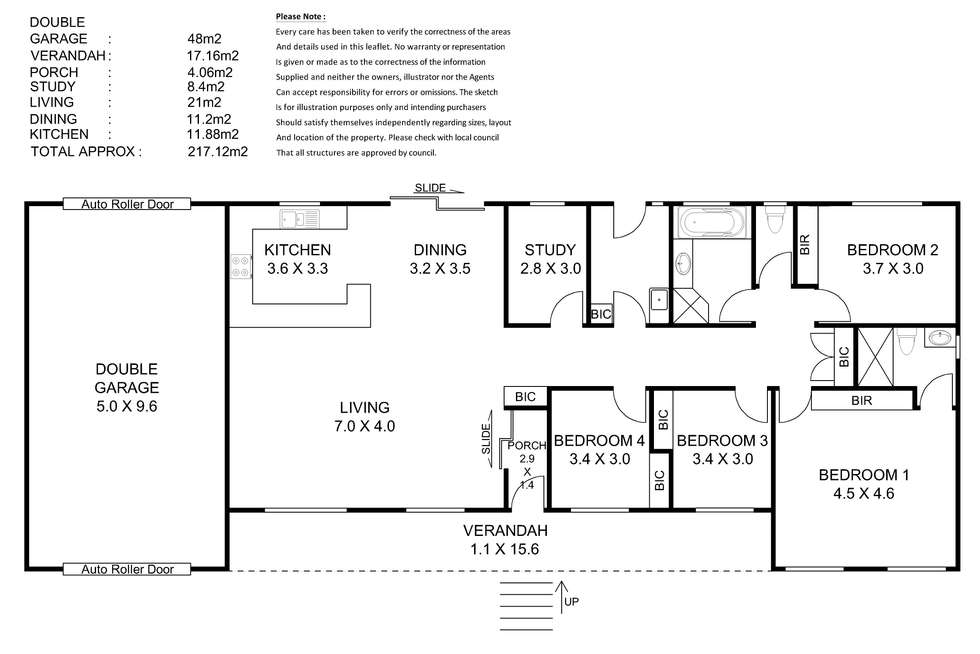 Floorplan of Homely house listing, 4 Stirling Road, Nairne SA 5252
