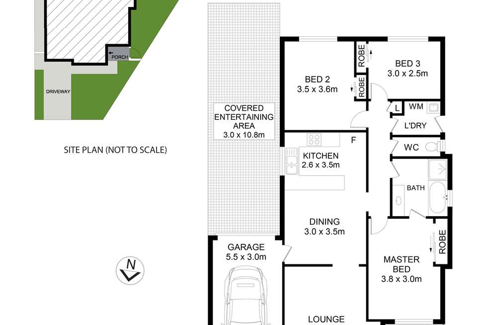 Floorplan of Homely house listing, 63 Kentwell Crescent, Stanhope Gardens NSW 2768