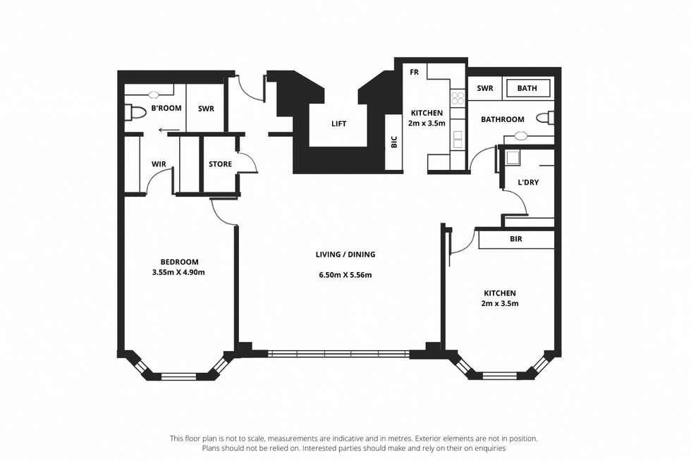 Floorplan of Homely apartment listing, 25/11 Charlick Circuit, Adelaide SA 5000