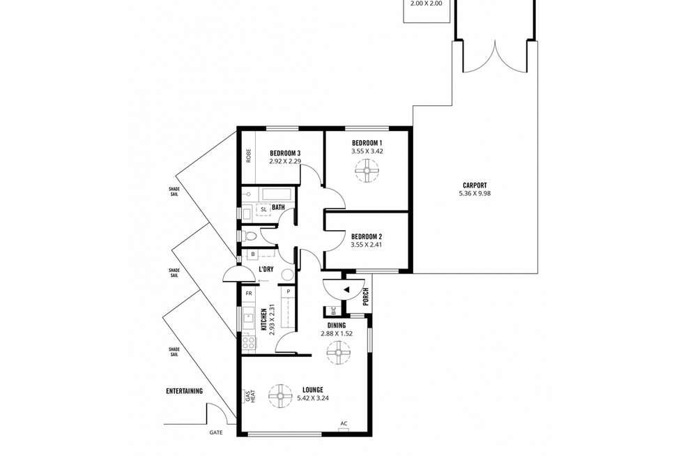 Floorplan of Homely house listing, 277 Waterloo Corner Road, Salisbury North SA 5108