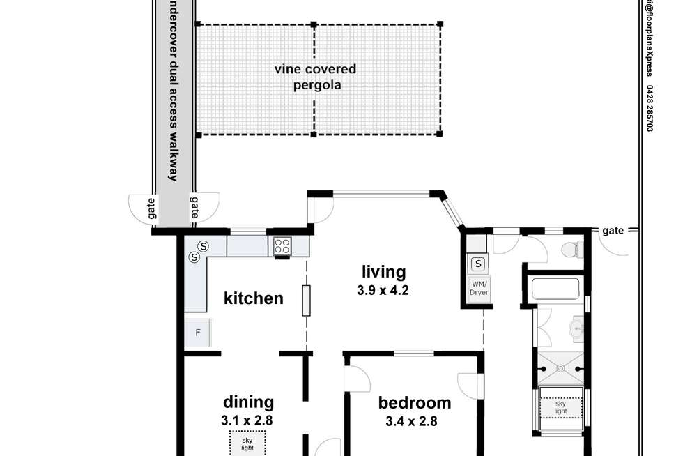 Floorplan of Homely house listing, 9 Marns Street, Wagga Wagga NSW 2650