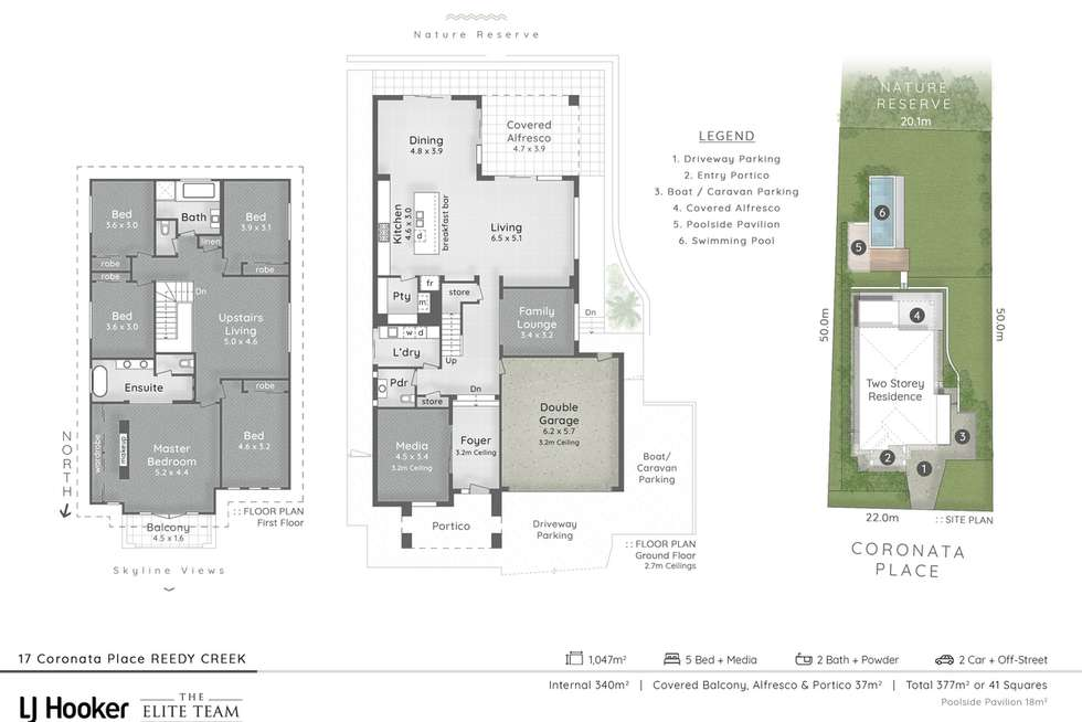 Floorplan of Homely house listing, 17 Coronata Place, Reedy Creek QLD 4227