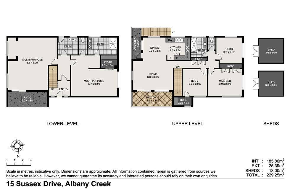 Floorplan of Homely house listing, 15 Sussex Drive, Albany Creek QLD 4035