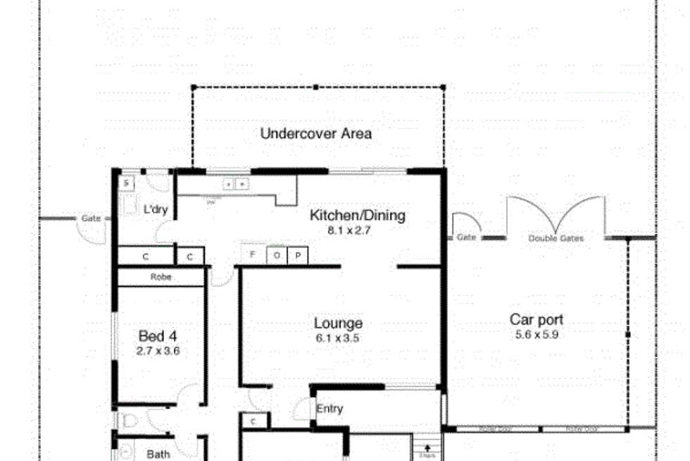 Floorplan of Homely house listing, 16 Clowes Place, Ashmont NSW 2650