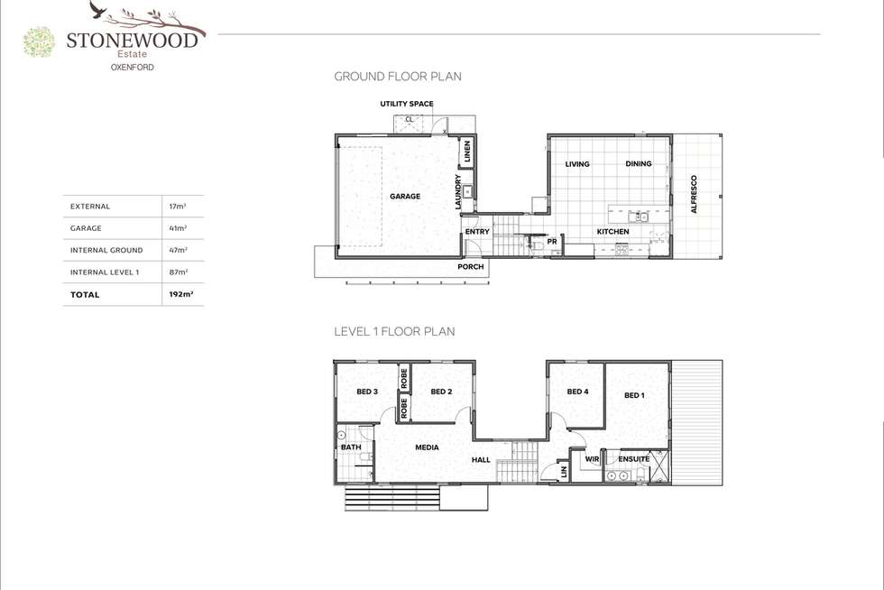 Floorplan of Homely house listing, Lot TBA Bryna Parade, Oxenford QLD 4210