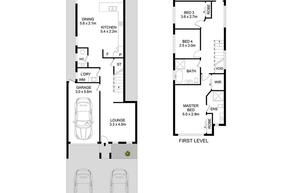 Floorplan of Homely house listing, 44a Rosedale Street, Canley Heights NSW 2166