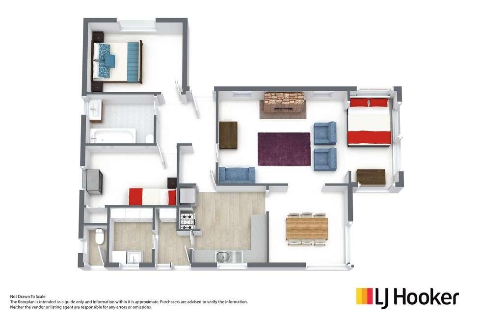 Floorplan of Homely house listing, 1 Wildor Crescent, Mowbray TAS 7248