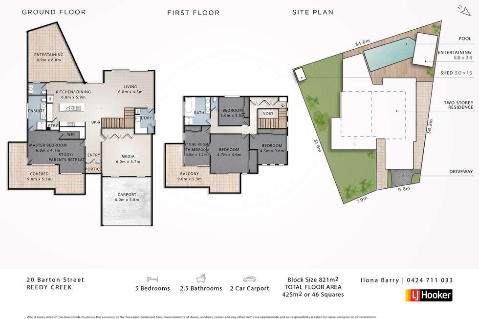 Floorplan of Homely house listing, 20 Barton Street, Reedy Creek QLD 4227